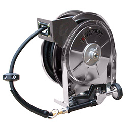 5635 OLSSW5 Stainless Steal Water Hose Reel