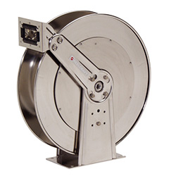 D83000 OLS-S Stainless Steal Water Hose Reel