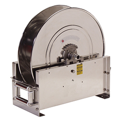 D9400 OLS-S Stainless Steal Water Hose Reel