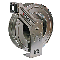 LC800 OLS Stainless Steal Water Hose Reel